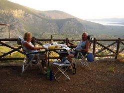 Campingplatz in der Nähe von Delphi