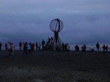 Mitternacht am Nordkap