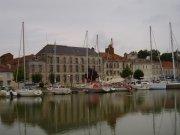 Mortagne-sur-Gironde ( Hafen )