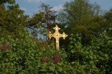 Goldenes Kreuz auf dem Heiligenberg (Jugenheim)