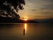 Sonnenuntergang am Millstätter-See