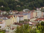 Blick auf Burghausen